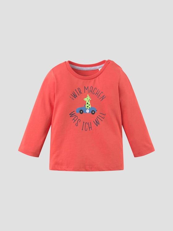 Print Langarmshirt - Babies - livid scarlet|red - 7 - Tom Tailor E-Shop Kollektion