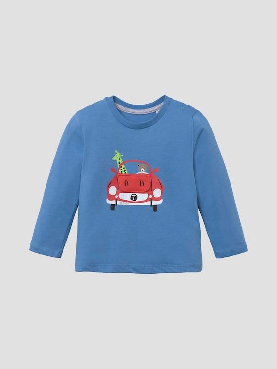 Langarmshirt mit Motivprint - Babies - chalky azure|blue - 7 - Tom Tailor E-Shop Kollektion