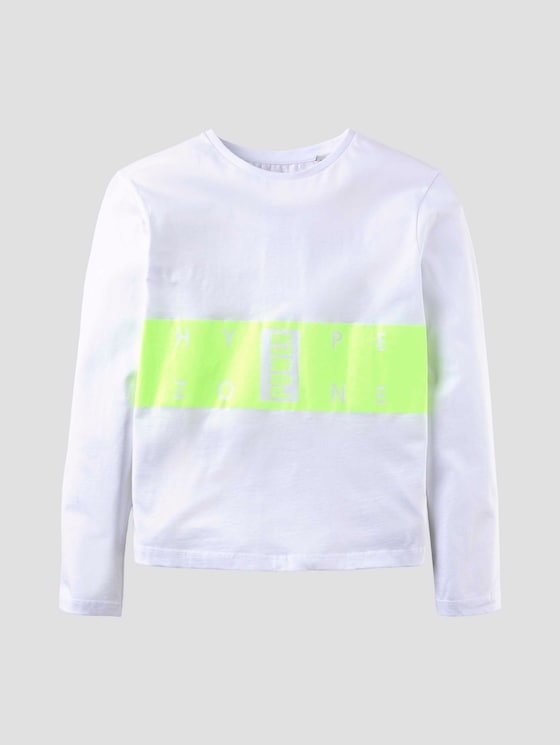 Langarmshirt mit Blockprint - Jungen - original|original - 7 - Tom Tailor E-Shop Kollektion