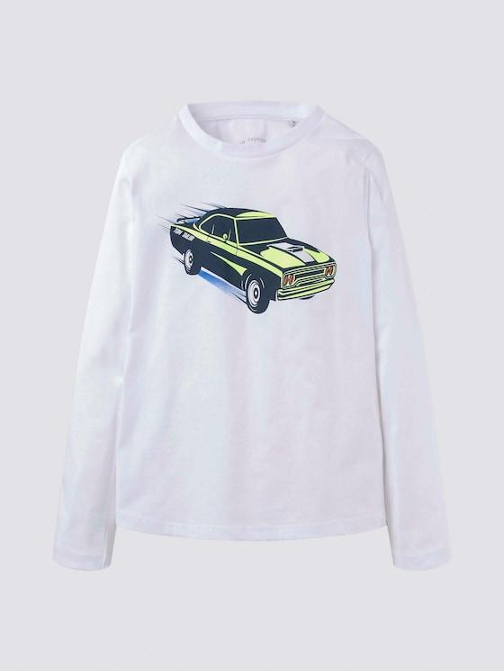 Langarmshirt mit Rennfahrer-Print - Jungen - original|original - 7 - Tom Tailor E-Shop Kollektion