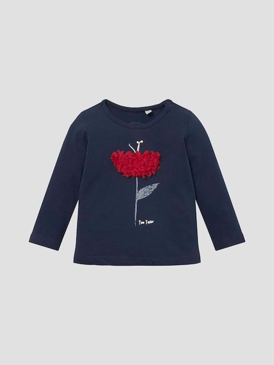 Langarmshirt mit Artwork - Babies - black iris|blue - 7 - Tom Tailor E-Shop Kollektion