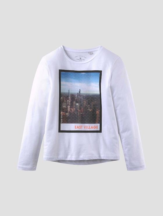 Langarmshirt mit Fotoprint - Jungen - original|original - 7 - Tom Tailor E-Shop Kollektion