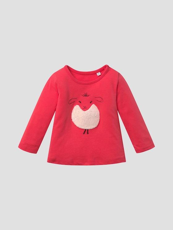 Artwork-Shirt mit Rückenfalte - Babies - geranium|red - 7 - Tom Tailor E-Shop Kollektion