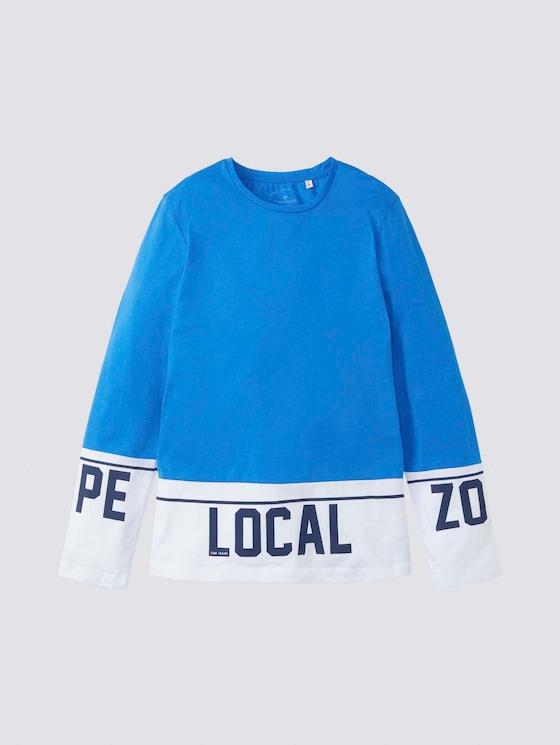 Colorblocking Langarmshirt - Jungen - strong blue|blue - 7 - Tom Tailor E-Shop Kollektion