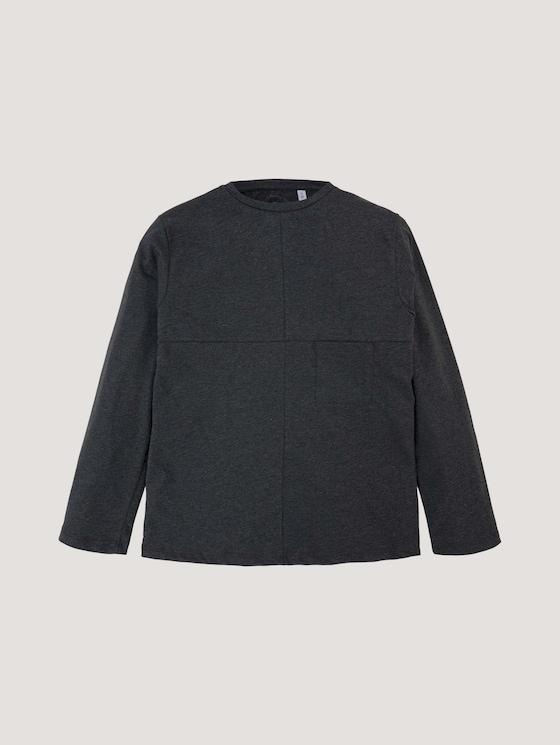 Casual top met lange mouwen en borstzak - Jongens - vulcan|gray - 7 - Tom Tailor E-Shop Kollektion