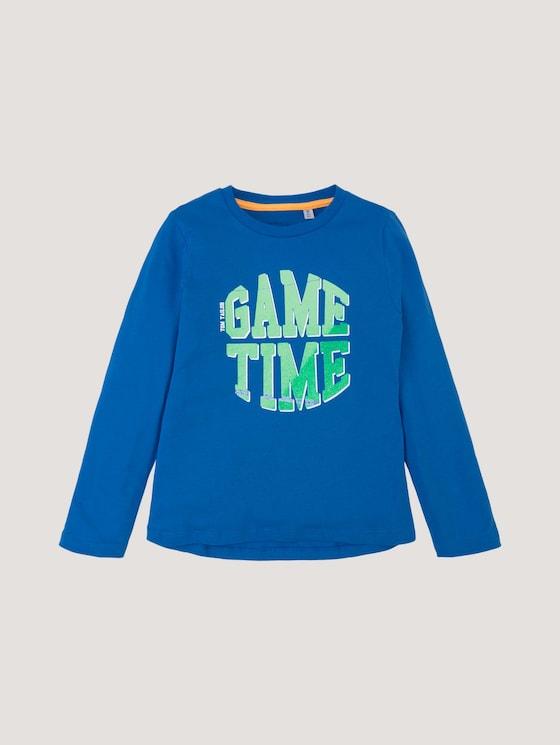 Langarmshirt mit Fotoprint - Jungen - strong blue|blue - 7 - Tom Tailor E-Shop Kollektion