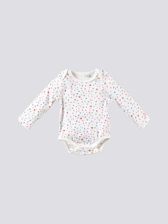 Body mit Blumen-Print - Babies - allover|multicolored - 7 - Tom Tailor E-Shop Kollektion