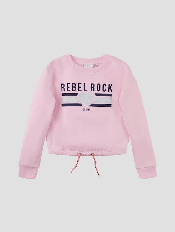 Sweatshirt mit Artwork - Mädchen - lilac sachet rose - 7 - Tom Tailor E-Shop Kollektion