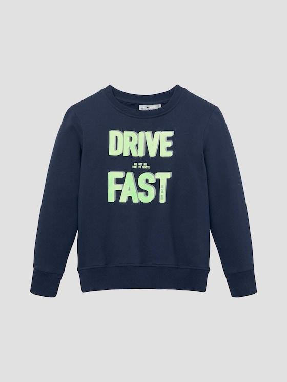 Sweatshirt mit platziertem Print - Jungen - dress blue|blue - 7 - Tom Tailor E-Shop Kollektion