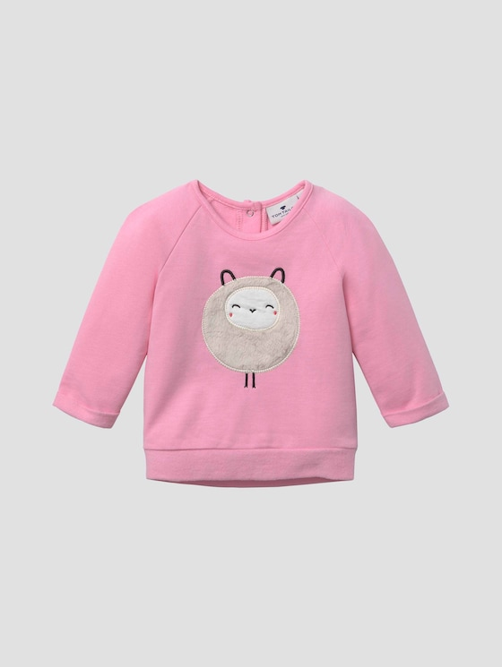 Sweatshirt mit Artwork - Babies - prism pink|rose - 7 - Tom Tailor E-Shop Kollektion