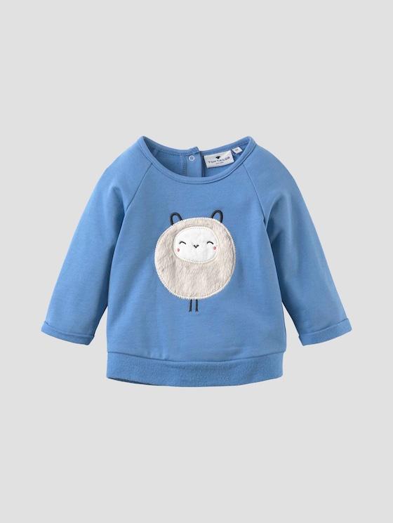Sweatshirt mit Artwork - Babies - iris bloom blue - 7 - Tom Tailor E-Shop Kollektion