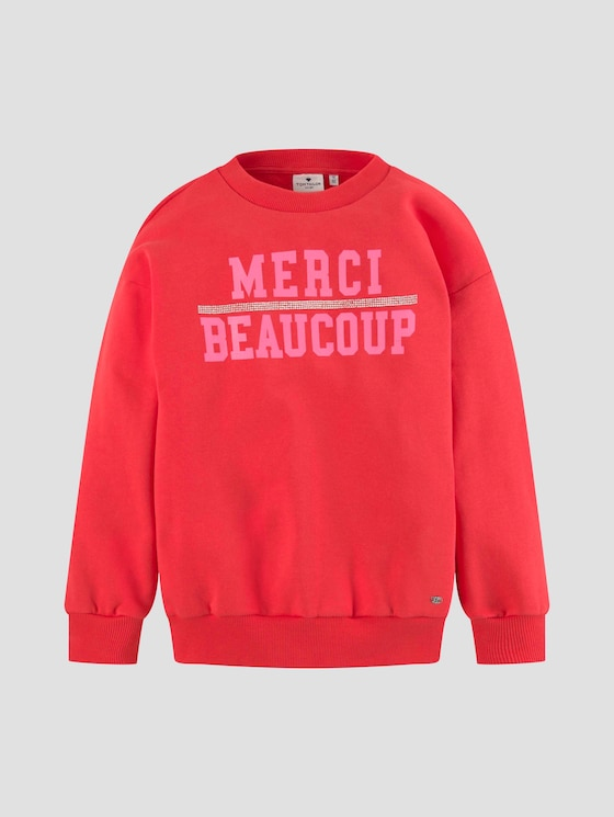 Sweatshirt mit Print - Mädchen - bittersweet|red - 7 - Tom Tailor E-Shop Kollektion