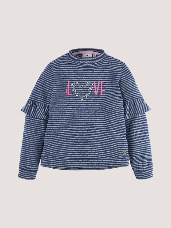 Gestreept Sweatshirt met Artwork - Meisjes - dress blue|blue - 7 - Tom Tailor E-Shop Kollektion