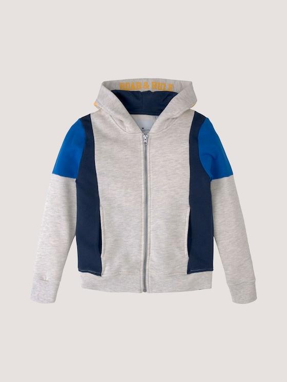 Sweatjacke im Colorblocking - Jungen - dress blue|blue - 7 - Tom Tailor E-Shop Kollektion