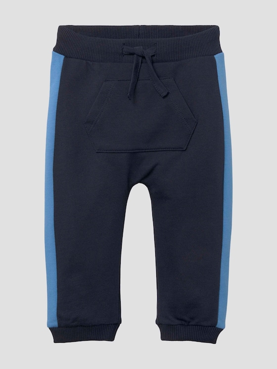 Jogginghose mit Kängurutasche - Babies - navy blazer|blue - 7 - Tom Tailor E-Shop Kollektion