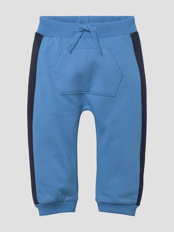Jogginghose mit Kängurutasche - Babies - chalky azure blue - 7 - Tom Tailor E-Shop Kollektion
