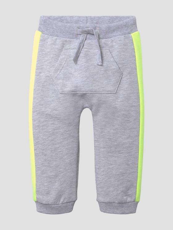Jogginghose mit Kängurutasche - Babies - vapor blue melange gray - 7 - Tom Tailor E-Shop Kollektion