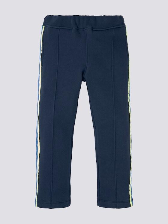 Jogginghose mit Tapedetail - Jungen - dress blue|blue - 7 - Tom Tailor E-Shop Kollektion