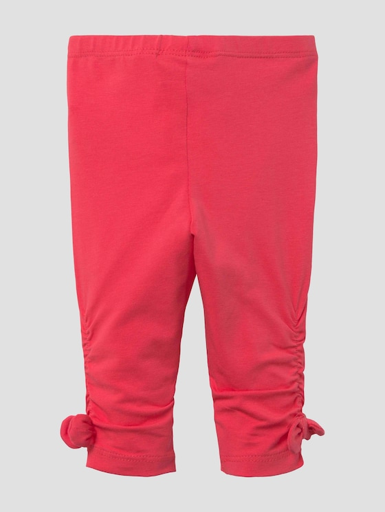 Leggings mit Schleifendetails - Babies - geranium|red - 7 - Tom Tailor E-Shop Kollektion