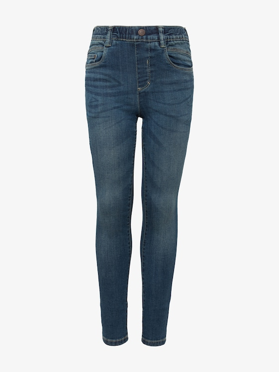 schlichte Treggings - Mädchen - light stone blue denim - 7 - TOM TAILOR