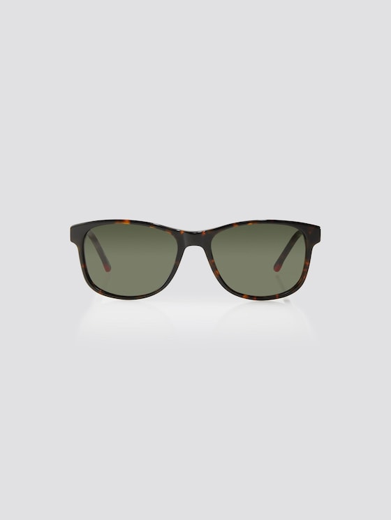 Wayfarer Unisex-Kindersonnenbrille - unisex - havanna green - 7 - TOM TAILOR