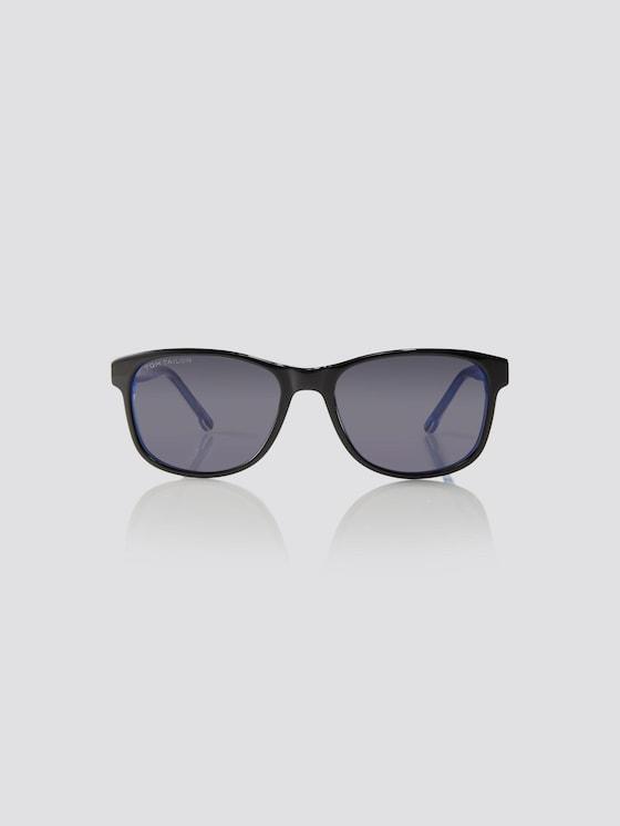 Wayfarer Unisex-Kindersonnenbrille - unisex - black-white-blue - 7 - TOM TAILOR