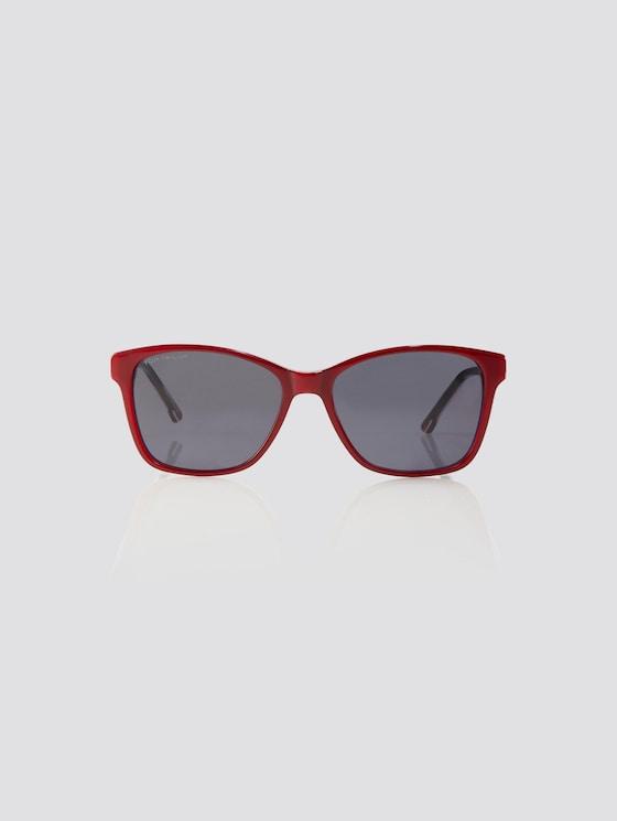 Cat Eye Unisex-Kindersonnenbrille - unisex - dark red-pink - 7 - TOM TAILOR