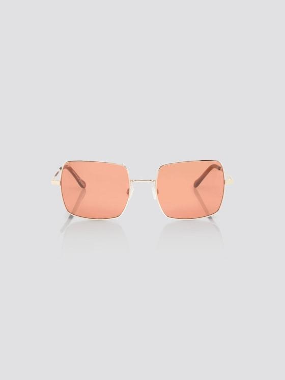 Sonnenbrille mit getönten Gläsern - Frauen - rose gold - 7 - TOM TAILOR Denim