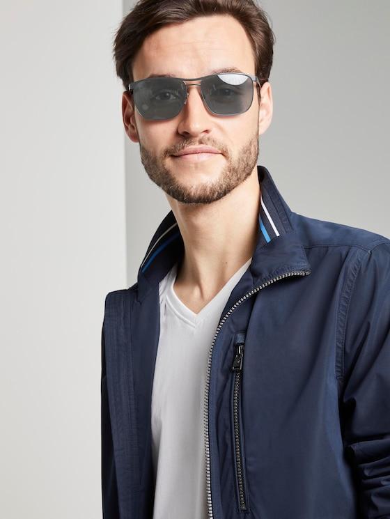 Wayfarer gespiegelde zonnebril met lente scharnier - Mannen - Artemis Grey - 5 - TOM TAILOR