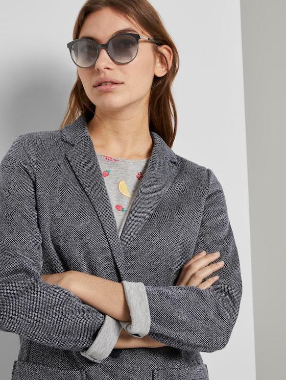 Abgerundete Sonnenbrille - Frauen - black-grey - 5 - TOM TAILOR