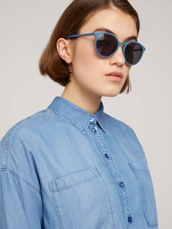 Sonnenbrille mit getönten Gläsern - Frauen - light blue - 5 - TOM TAILOR Denim