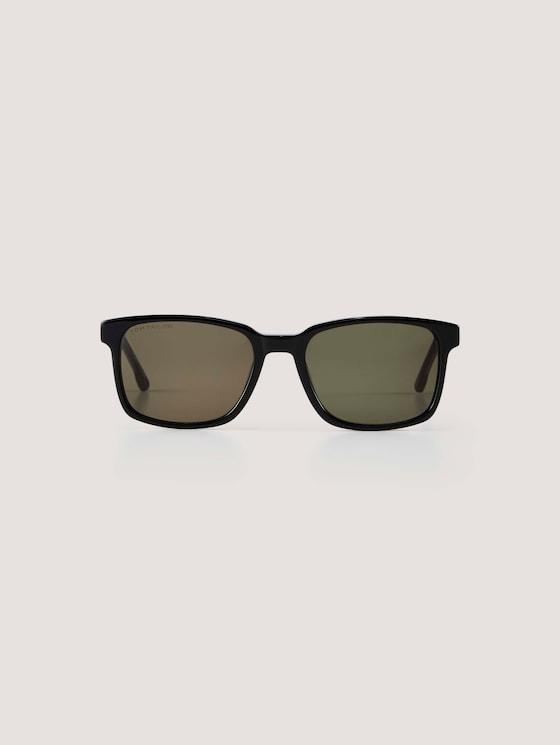 Sportliche Kindersonnenbrille - unisex - black/ havanna - 7 - TOM TAILOR
