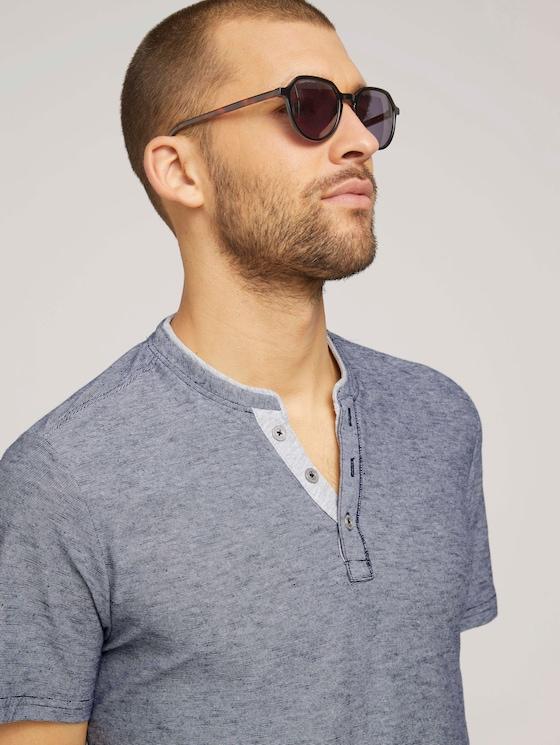 Gerundete Sonnenbrille - Männer - black/ grey - 5 - TOM TAILOR