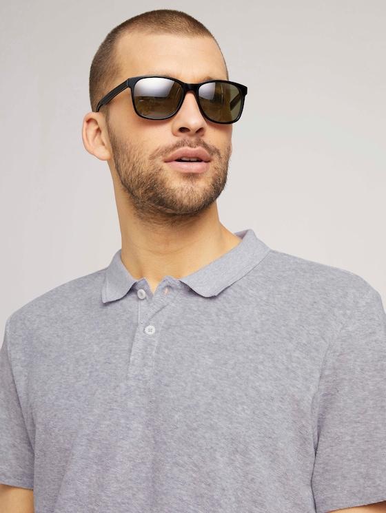 Klassische Sonnenbrille - Männer - grey-white/ black - 5 - TOM TAILOR