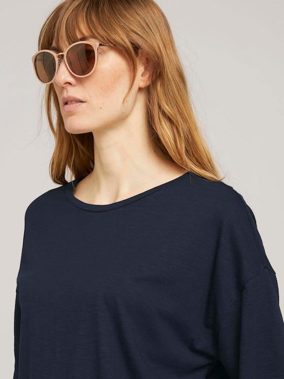 Sonnenbrille mit Metallelementen - Frauen - copper-sand - 5 - TOM TAILOR