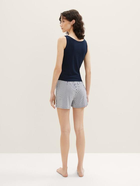 Short met gestreepte Pyjama - in Pyjama's & Loungewear