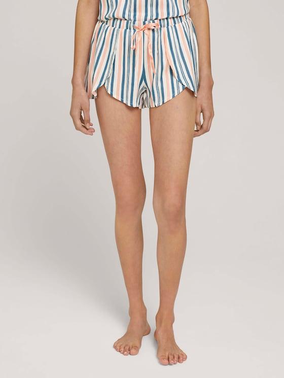 Pyjama-short met wikkel-look - in Pyjama's & Loungewear