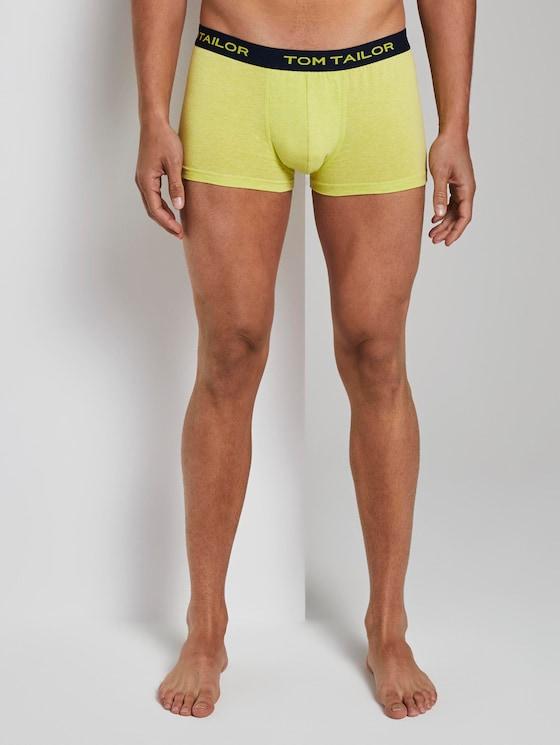 Hip-Pants im Dreierpack - Männer - yellow-light-solid - 1 - TOM TAILOR