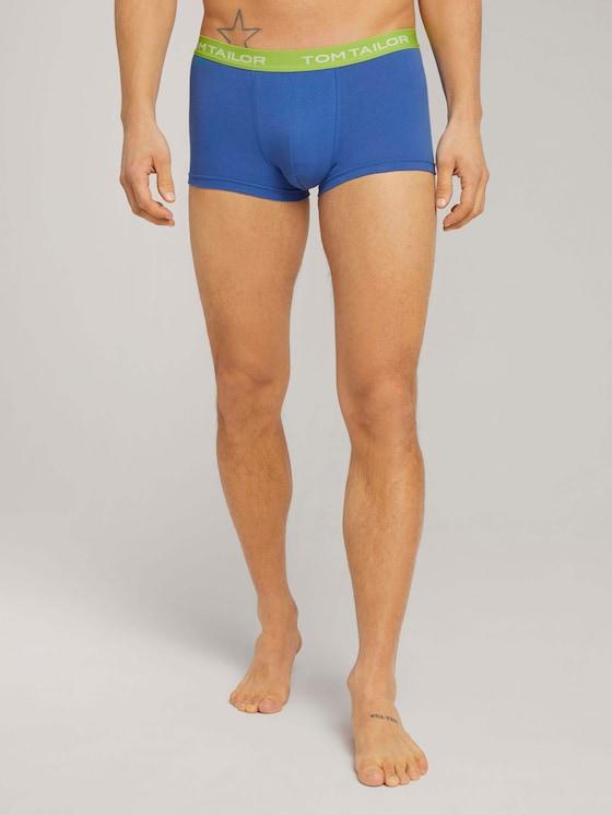 Hip-Pants im Dreierpack - Männer - aqua light blue - 1 - TOM TAILOR