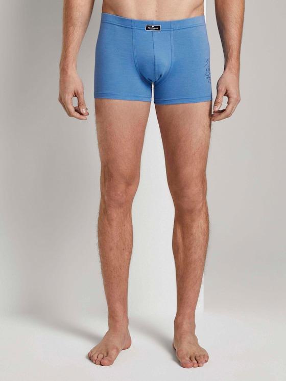 Hip-Pants im Doppelpack - Männer - blue-medium-melange - 1 - TOM TAILOR