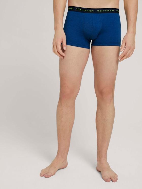 Gestreifte Hip-Pants - Männer - blue-dark-horizontal stripe - 1 - TOM TAILOR