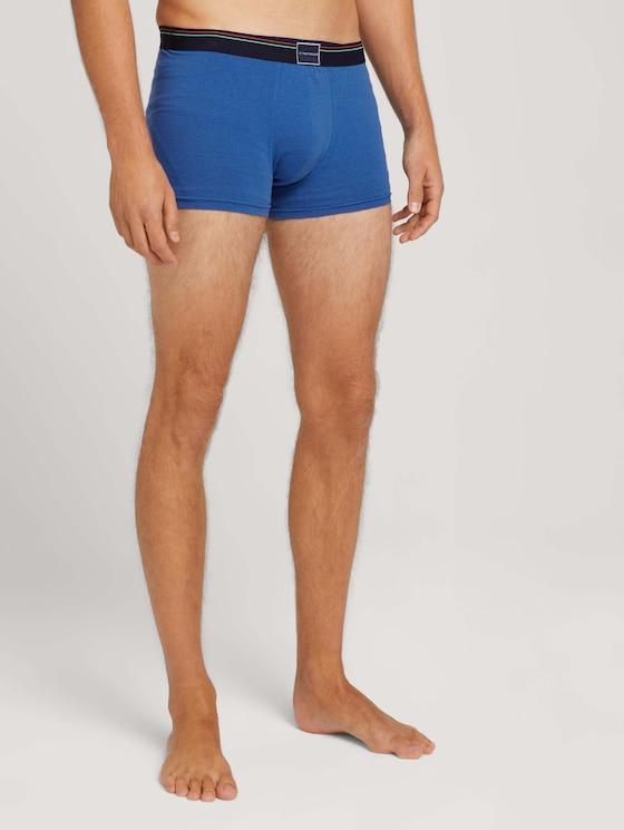 Hip pants in a twin pack - Men - blue stripe - 1 - TOM TAILOR