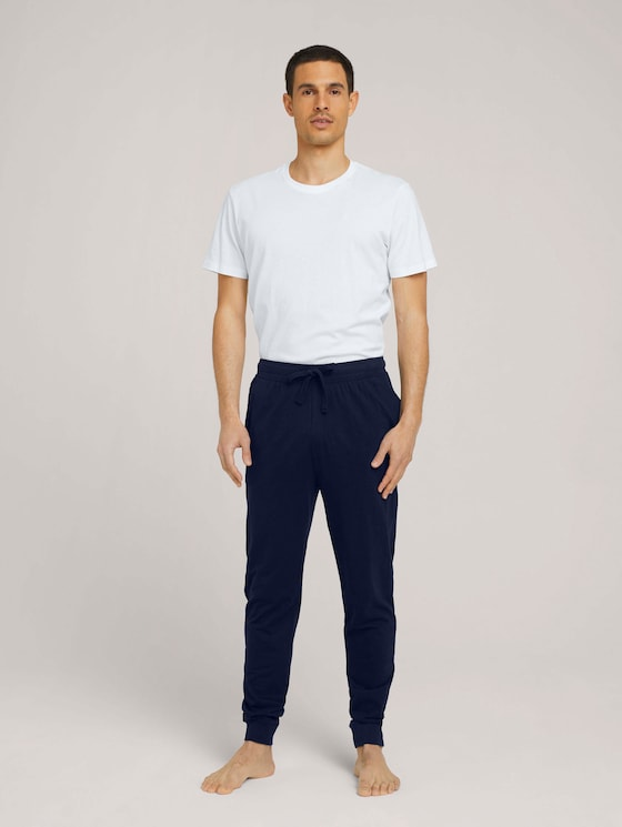 Pyjama Hose - Männer - blue-dark-solid - 3 - TOM TAILOR