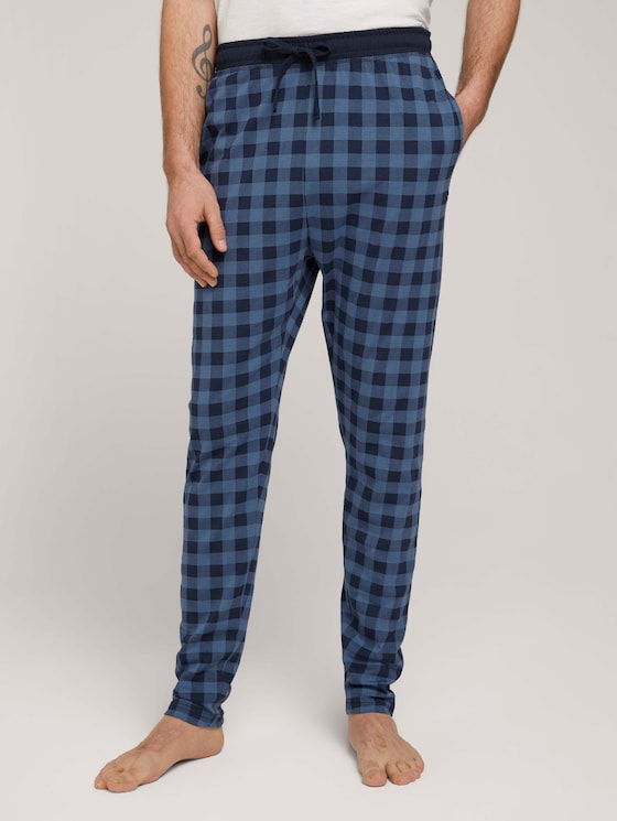 Geruite pyjamabroek