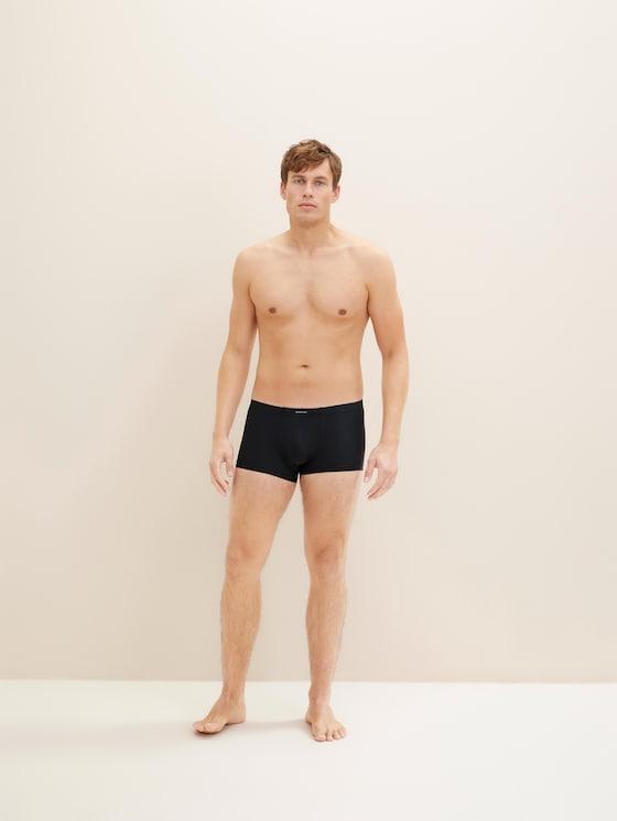 Striped hipster briefs - Men - black - 1 - TOM TAILOR