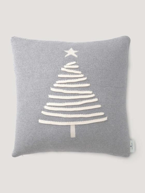 Weihnachtsbaum Kissenhülle - unisex - grey - 7 - TOM TAILOR