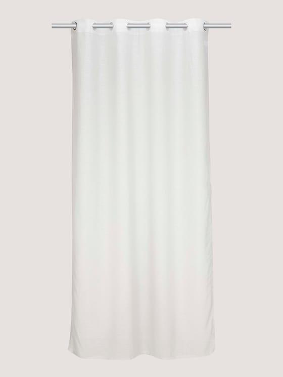 basic eyelet curtain - unisex - lt.grey - 7 - TOM TAILOR