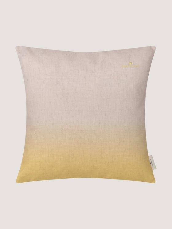 Kissenhülle mit Farbverlauf - unisex - yellow - 7 - TOM TAILOR
