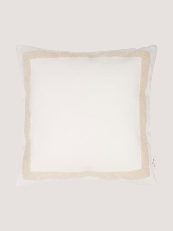 Kissenhülle mit Bouclé-Effekt - unisex - offwhite - 7 - TOM TAILOR