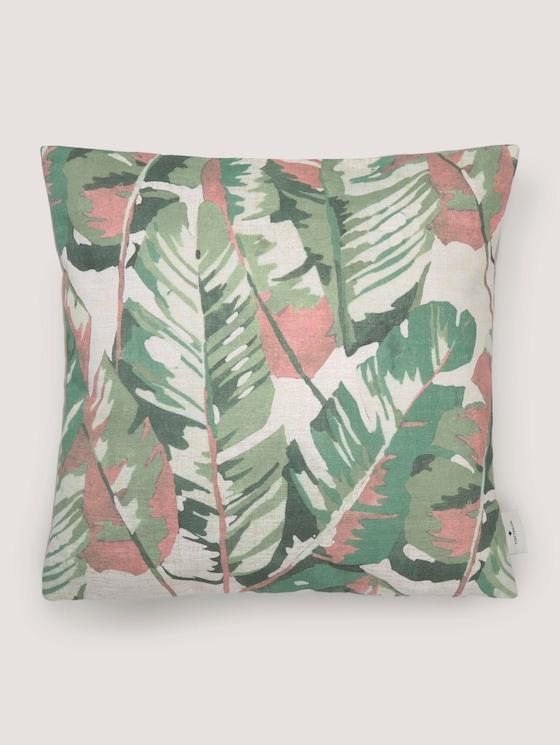 Kissenhülle mit floralem Muster - unisex - green - 7 - TOM TAILOR